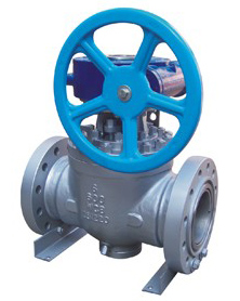 cast steel entry ball valve
