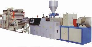 pvc skinned foam plate extrusion line