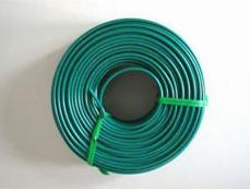 green plastic coated rebar tie wire