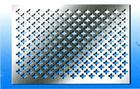 trigonal pentagonal quincuncial hole perforated metal mesh