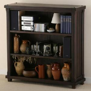Sheesham Wood Display Unit Bookcase Indian Furniture Household