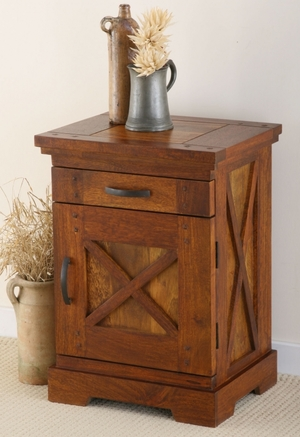 wooden bedside cabinet manufacturer exporter wholesaler indian furniture