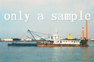 500m� Cutter Suction Dredger, Price: Usd 1,250,000