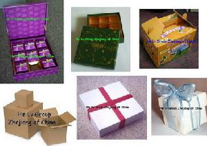 cardboad boxes gift jewelry carton packing