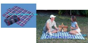 outdoor blanket picnic