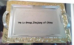 Produce And Customize Various Silver Plate, Craft Plate, Metal Plate