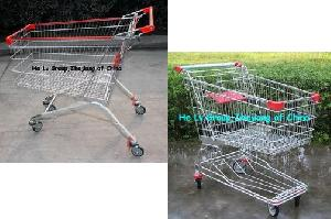 supermarket trolley cart