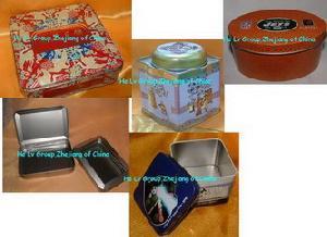 tin box packing