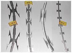 concertina razor coils