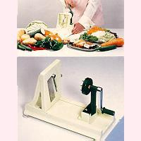 turning vegetable shredder