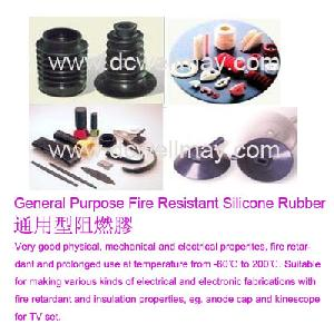 fire resistant silicone rubber