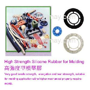 strength silicone rubber molding