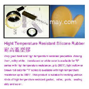 temperature resistant silicone rubber