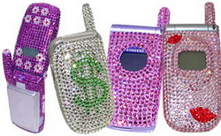 swarovski crystal cell phone faceplates