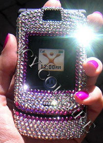 swarovski crystal mobile phone faceplates