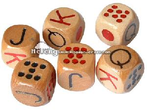 dice wood wooden game playing