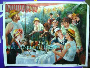 wholesale 100 handmade oil painting reproduction