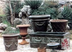 fiberglass planter