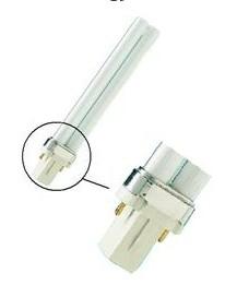 pl s 2 alfinete g23 única luz fluorescente tubo 5w 7w 9w 11w 13w