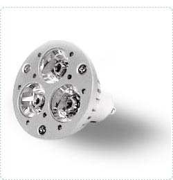 High Power Leds Hpled Gu10 Spot Light Lamp, Twist And Lock Base