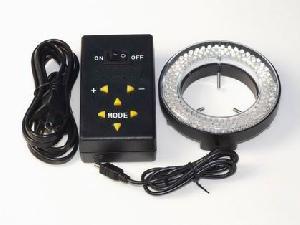 quadranten kontroll led ring mikroskop licht helligkeit einstellbar 61mm durchmesser