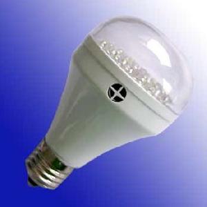 sensor de luz led la bombilla detección sonido sobre el atardecer amanecer frent