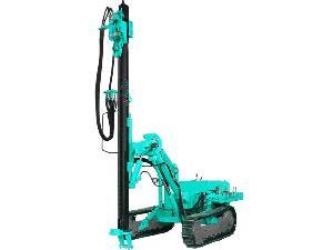 crawler hydraulic rock drill