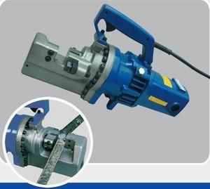 portable hydraulic electric steel rod cutter