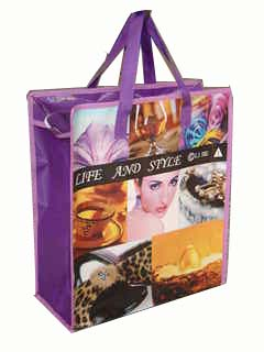 life recycled pp shopping bag