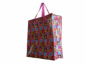 shoe bag recycled woven shopping
