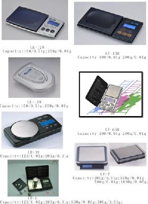 Manufacturer Of Electronic Pocket Scales Capacity 100g-500g / 0.01g