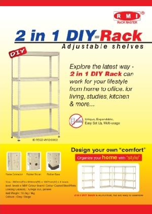 boltless storage racking system