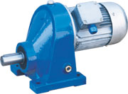 1 stage helical gearbox