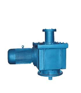 stage vertical flange connection hard gear surface reducer