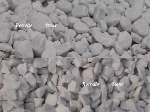 snow pebble crushed stone