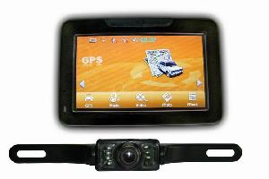 car gps wireless license plate camera navigation system