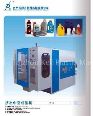 screw mold carriage extrusion blow molding machine bottle