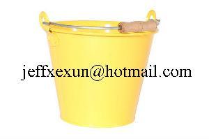 pails galvanized bucket