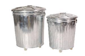 wheelie bins trash cans wheels