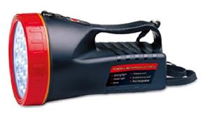 powerful rechargeable torch 205l