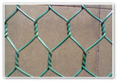 hexagonal wire netting poultry wall constuction building gabion