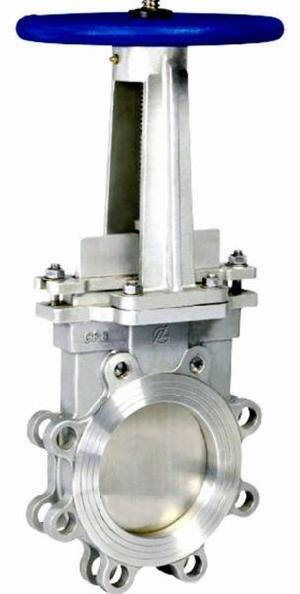 carbon steel cast knife gate valve