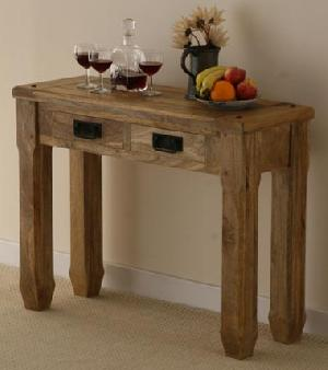 mango wood console table manufacturer exporter supplier