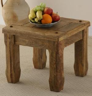 mango wood side table handicrafts gifts decorative manufacturer exporter