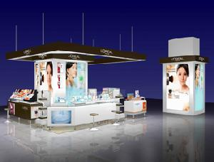 cosmetic showcases sstore
