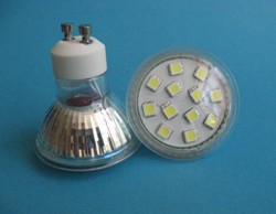 gu10 smd led viewing angle