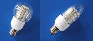led light bulbs candelabra globe candle spherical ball shape