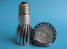 light led 3x2watt jdr e27