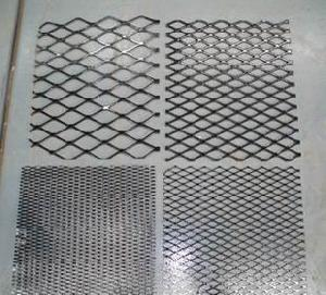 expanded steel metal flattened heavy