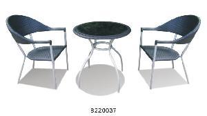 garden furniture resin wicker bistro 3